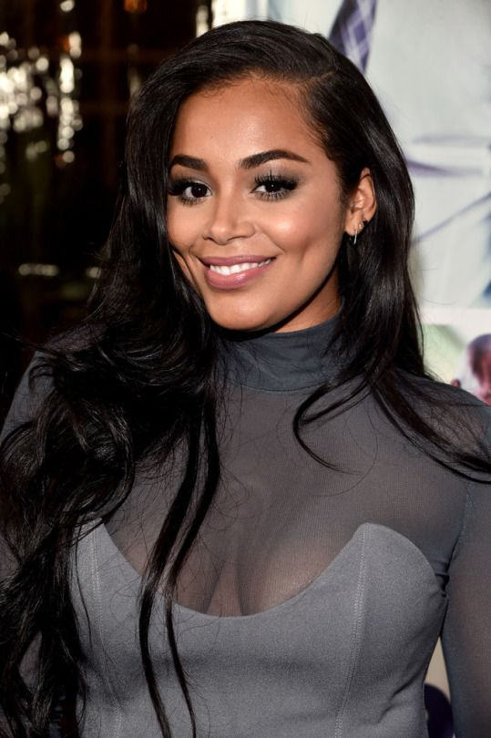 Pinterest: @1jasminedesiree I Lauren London close up