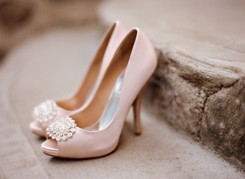 Wedding Dress With Pink Shoes Fashion Dresses
