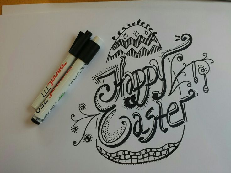 Happy elsker drawings,  typography