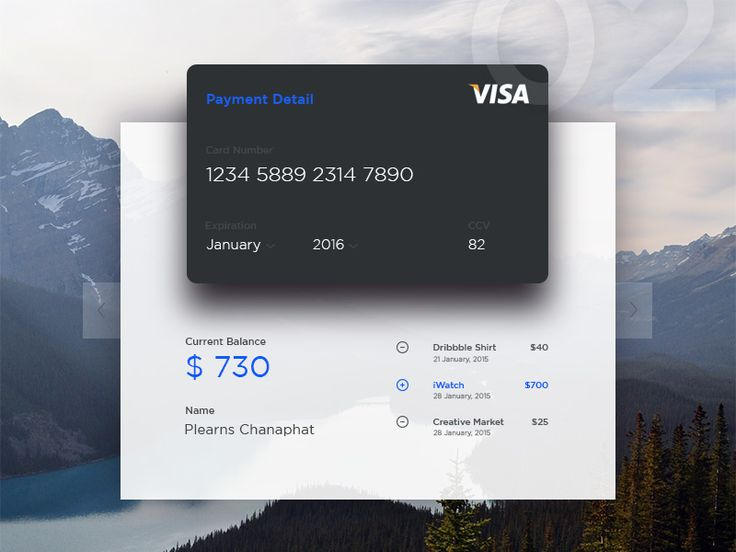 Hi Dribbble friends! This is credit cards for check your current balance. Hope you like it. feedback are welcome.Thanks :-)