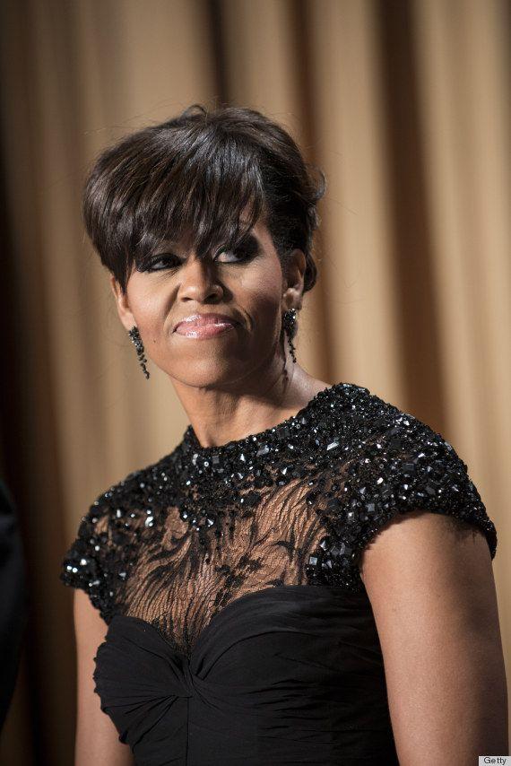 Michelle Obama white house correspondents dinner 2013