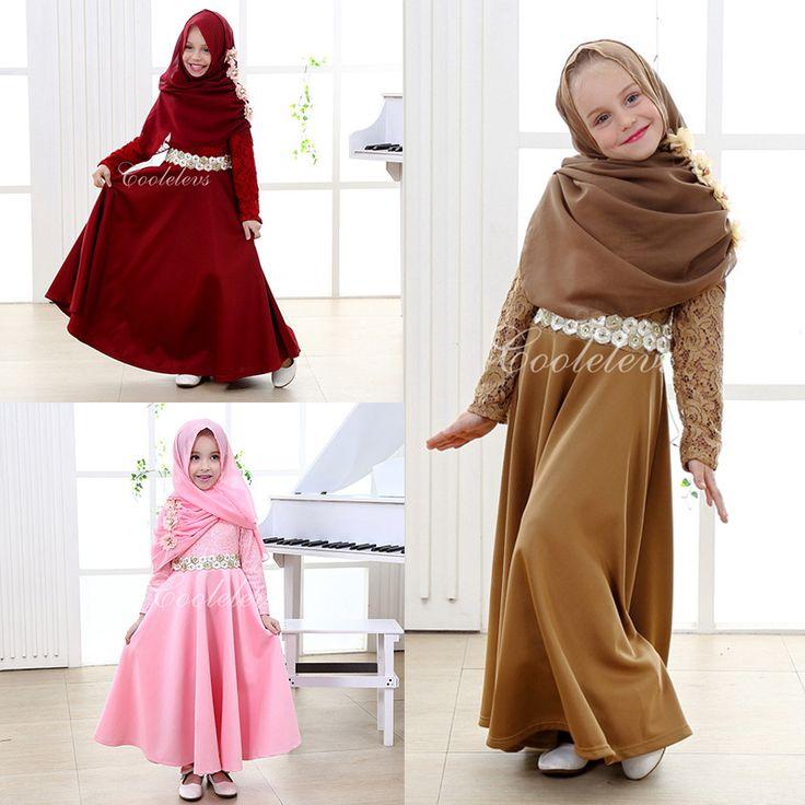 $114.07 (Buy here: https://alitems.com/g/1e8d114494ebda23ff8b16525dc3e8/?i=5&ulp=https%3A%2F%2Fwww.aliexpress.com%2Fitem%2FFashion-Kids-Girl-Princess-Dress-Costume-Cosplay-Vestidos-Long-Muslim-Dress-Scarf-Baby-2-pcs-Dress%2F32640733505.html ) Fashion Kids Girl Princess Dress Costume Cosplay Vestidos Long Muslim Dress + Scarf Baby 2 pcs Dress Set Fulla Suits,age 7-12T for just $114.07