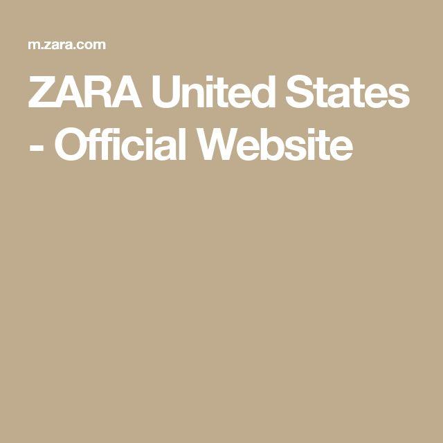 ZARA United States - Official Website