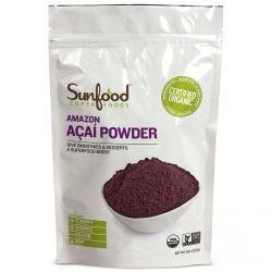 Sunfood, Amazon Acai Powder, 8 Oz (227 G), Diet Suplements 蛇
