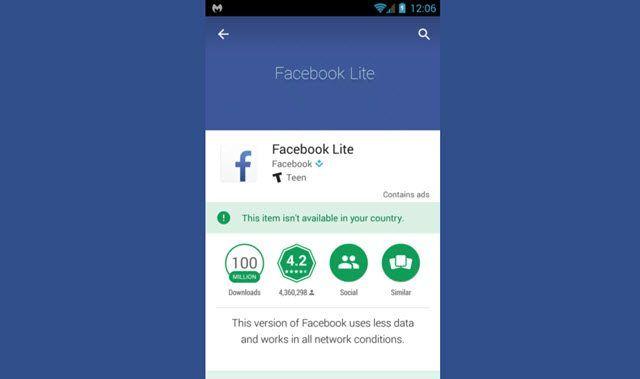 Cuidado con instalar Facebook Lite desde fuentes no confiables podría compartir todos tus datos
