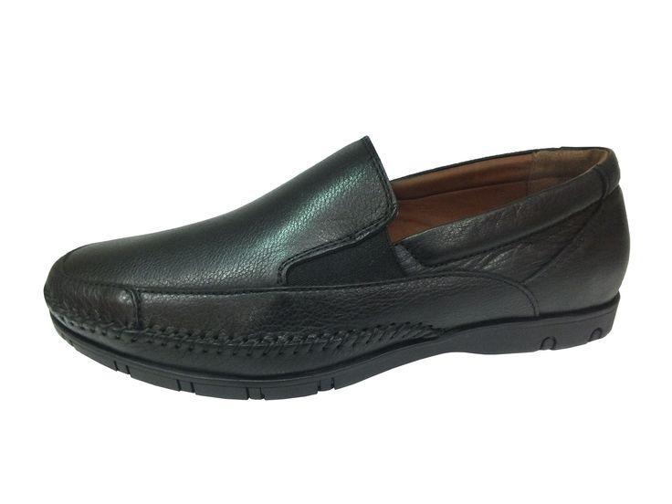 Polaris Marka Ortopedik Bağcıksız Siyah Erkek Ayakkabı, http://www.carikcim.com/polaris-107267-ortopedik-bagciksiz-siyah-erkek-ayakkabi