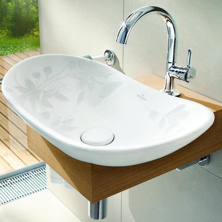 33 best washbasin wood images on Pinterest Bathroom, Bathroom - keramik waschbecken küche
