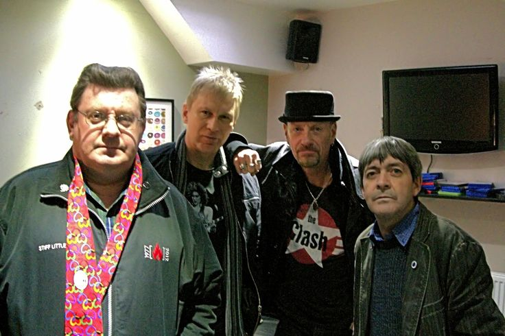Lives & Times Fundraising Book : Stiff Little Fingers supporting Bowel Cancer Charity Book