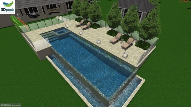 1000 images about modern pool designs online on pinterest for Pool plans online
