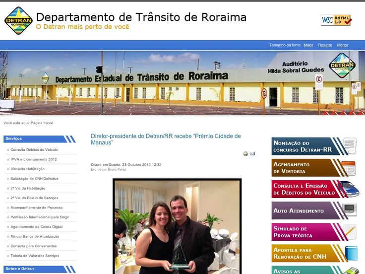 www.detran.rr.gov.br Entrar Agora - Pergunte Tecnologia