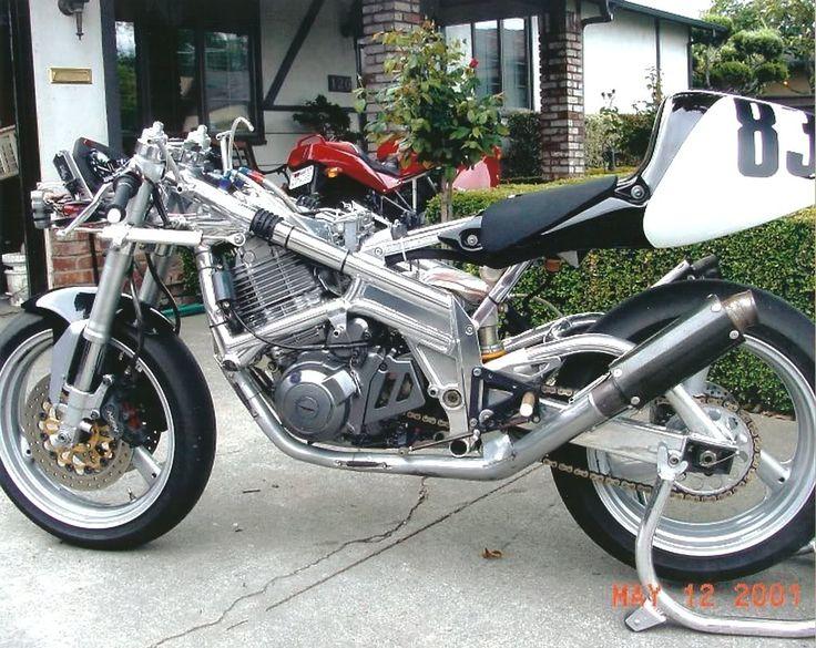 SRX600 Race Bike