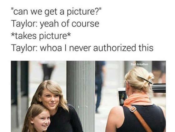 """They were the Snapchats seen around the world — in just a few minutes, Kim Kardashian managed to savagely expose Taylor Swift for lying about being victimized by Kanye West's song, """"Famous."""" Basically, no one has been able to leave the #KimExposedTaylorParty since it kicked off last night, and while other celebrities were busy putting in their two cents, regular people got involved by doing what they do best — making memes!"""