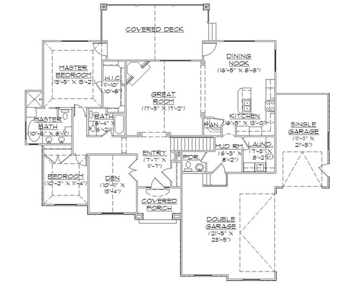 Rambler house plans with basements professional house for Rambler plans