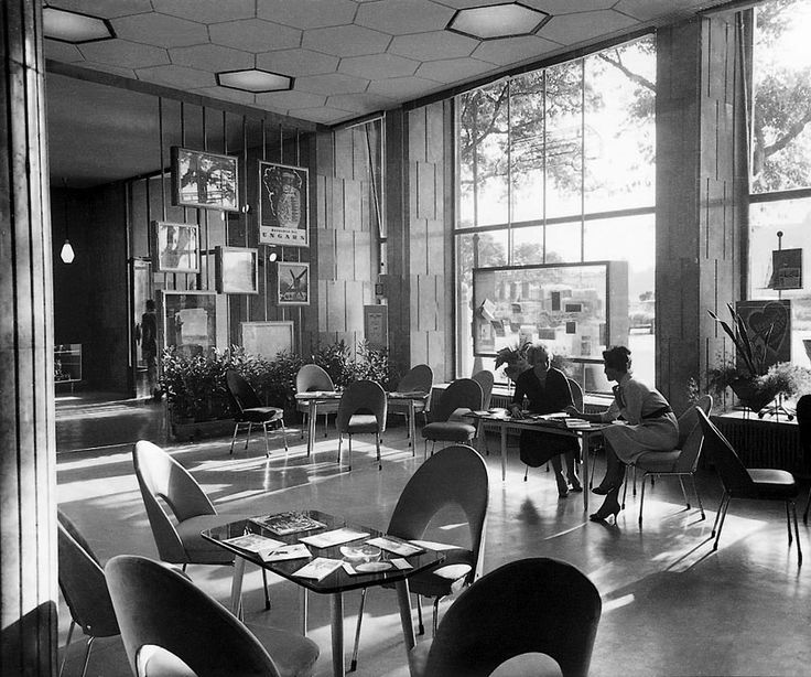1960 interior in a Budapest office