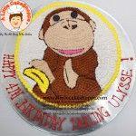 Monkey customised cake. A Little CakeShoppe Singapore