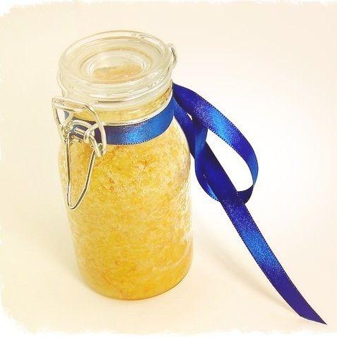 Домашний скраб от целлюлита с апельсином