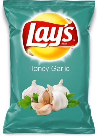 Honey Garlic Lays Chips Anyone??