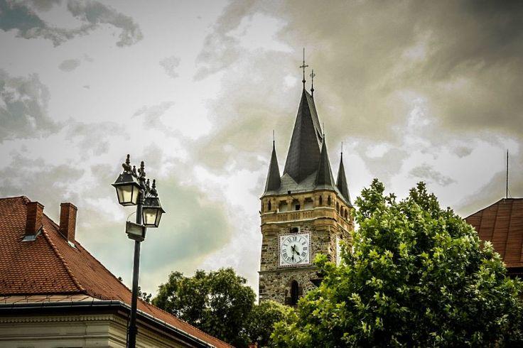 """Turnul """"Sf. Ştefan"""" din Baia Mare #romania"""