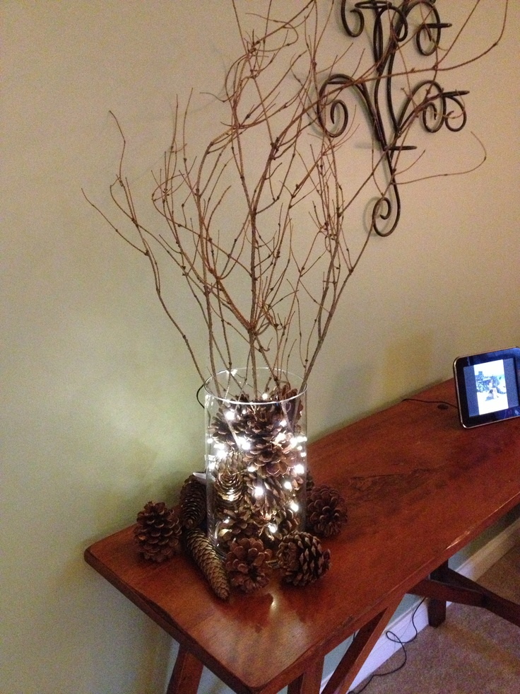 Christmas Craft Ideas Pine Cones Part - 37: Obsessed With Pine Cone Crafts For Christmas