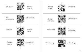 QR puzzle ~ Zamiast kserówki. Edukacyjne gry i zabawy dla dzieci.