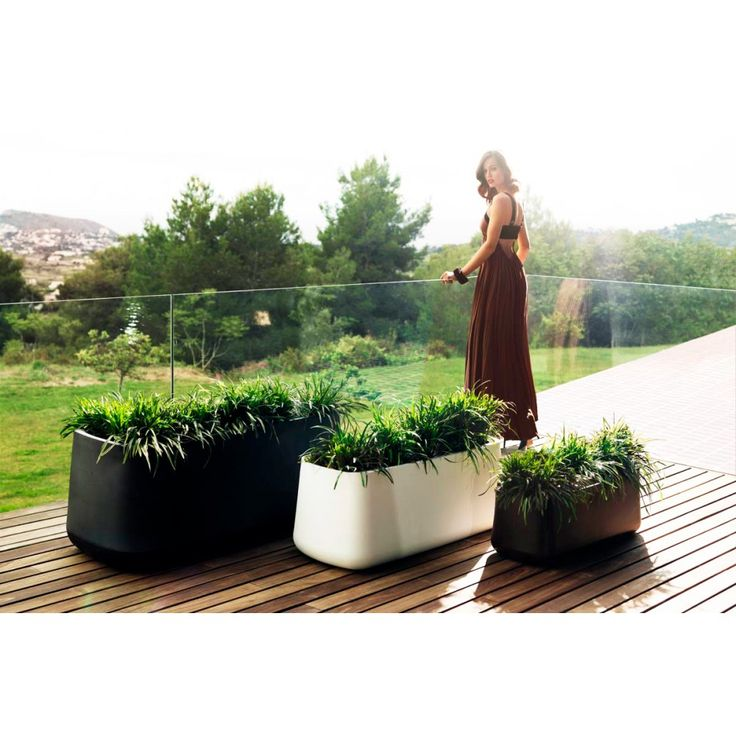 Vasijas Jardiniere Planter, Outdoor Lighted Furniture Design At Cassoni.com