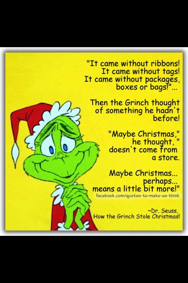 dr seuss grinch facebook cover quotes