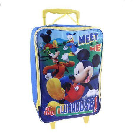 Disney Mickey Mouse Pilot Case, Blue