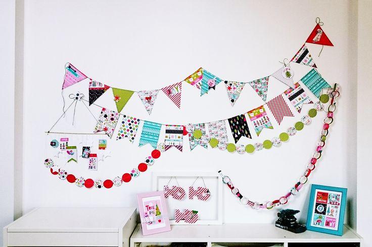 Gyerekszobás dekor-kalandok - punkrose.hu Home decor in the kids room, christmas decor, Bella Blvd, scrapbook