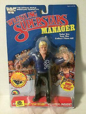 "(TAS005387) - WWE WWF WCW Wrestling LJN 8"" Figure - Manager Bobby Heenan"