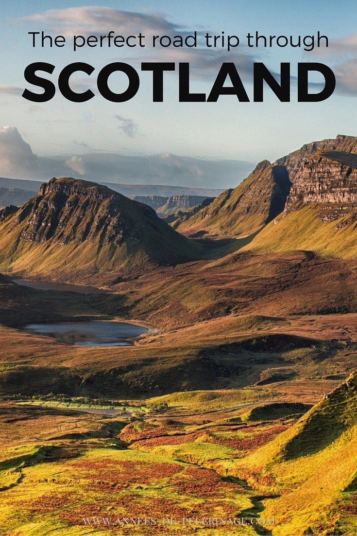 The perfect road trip through Scotland. A travel guide with a detailed itinerary…