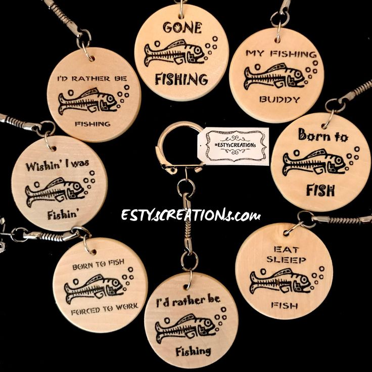 A personal favorite from my Etsy shop https://www.etsy.com/ca/listing/519472100/4-fisherman-keychains-gift-for-him-gift