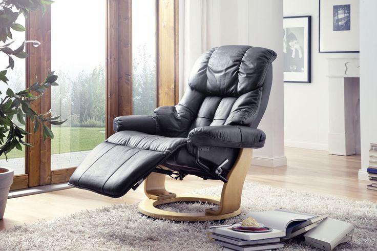 Relax-SesselGerington mit Fußstütze Absolut hochwertig verarbeiteter bequemer Wohnsessel in ansprechendem Design. Ein zeitloses Möbelstück zum Entspannen mit raffinierten Details für...