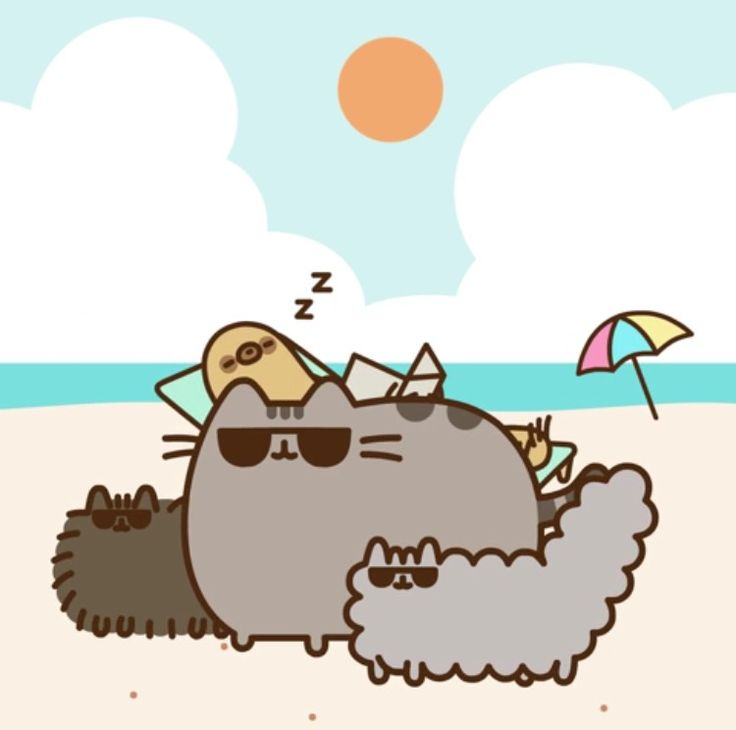 Kawaii Island Go Vacation: Pusheen Stormy And Pip Pictures To Pin On Pinterest