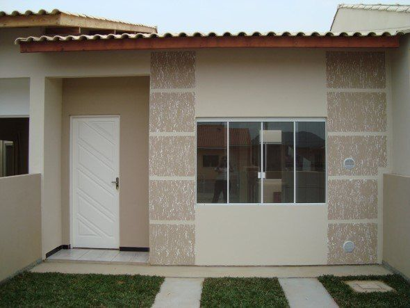 Modelos de fachadas de casas simples, porém bonitas.