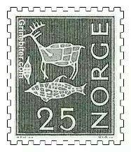 Norsk frimerke