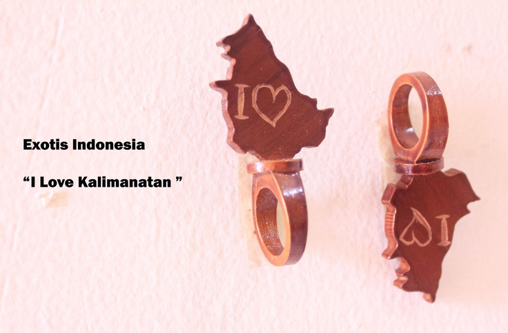 """I Love Kalimantan"" - Design accessories andrauni valentina nganduh. Inspiration from culture Indonesia"