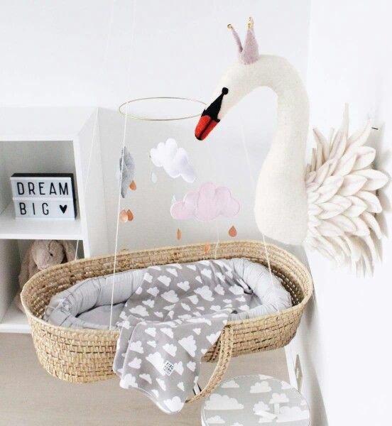 Light box - alittlelovleycompany - jellycat - rabbit - www.Petit.is - sew heart felt - swan head - Moses basket - farg & form Sweden - Babynest - kongesslojd - cloud mobile - babyroom - nursery