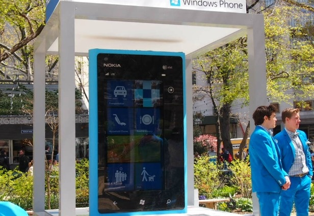 Microsoft and Nokia Begin Massive Marketing Push Behind Lumia 900