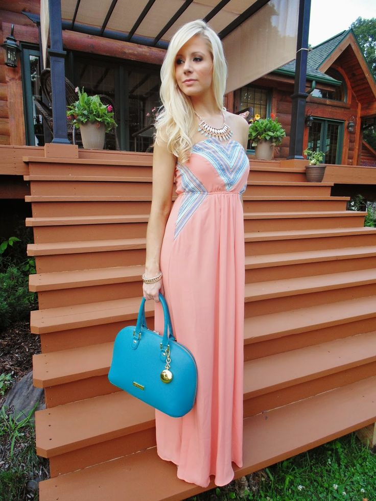 17 Best ideas about Pink Maxi Dresses on Pinterest | Pink maxi ...