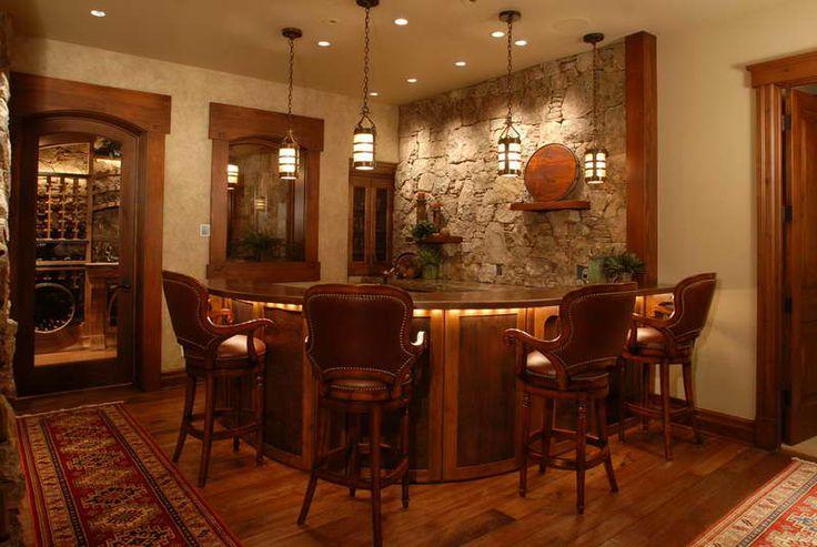 WET BARS  | Wet Bar Ideas With Hardwood Floors