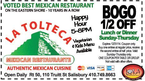 Mexican Food In Salisbury Md