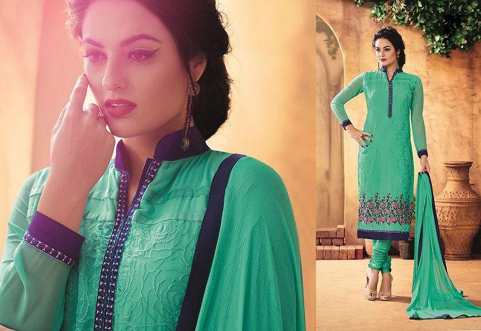 Designer Party Anarkali Ethnic Exclusive Indian Bollywood Pakistani Salwar Suit…