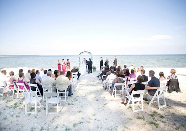 How About A Beautiful Beach Wedding In Ellison Bay Wi