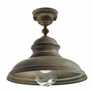 Lampa zewnętrzna plafon Moretti Włoska retro