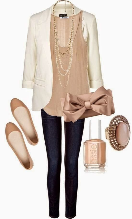 Casual Business Ladies Outfit