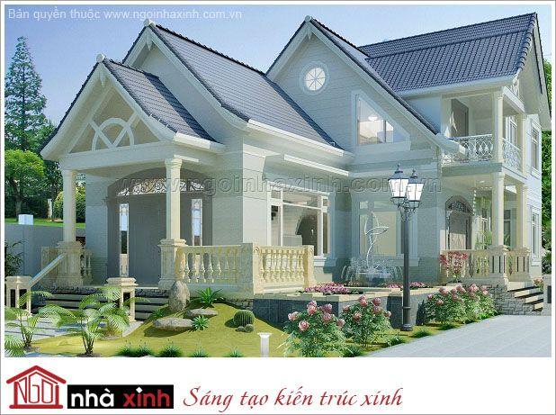 Mẫu Thiết Kế Biệt Thự Đẹp – Ngôi Nhà Xinh | Hiện Đại | Mái Bằng | 3 Tầng | 2 Mặt Tiền – Tp. HCM | BTNNX012