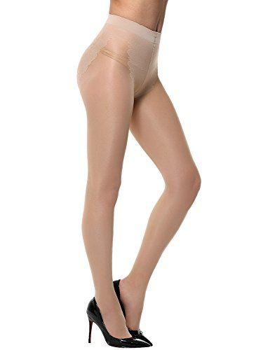 """Amoretu Womens Sheer Tights Seamless Pantyhose  Brand: Amoretu. High Quality Guarantee.  One size fits for US XS-M; Height 4'11""""-5'74"""" Weight 100-145 lbs  PACKAGE includes 1 X Pantyhose  FEATURES: Super soft & elastic, smooth, thin, breathable fabric tights,the best skin touching pantyhose for spring, summer.  FEATURES: HOT and CUTE. Match heels and skirt dresses well."""