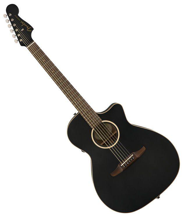 Fender Newporter Special Acoustic Electric Matte Black Acoustic Electric Acoustic Electric Guitar Fender