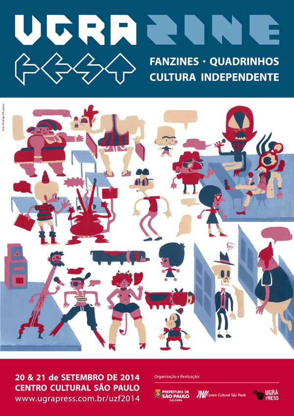 Cartaz Ugra Zine Fest 2014