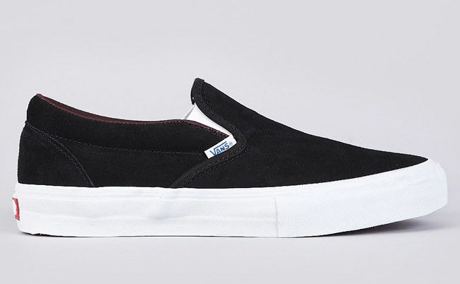"Vans Slip-On Pro ""Black/Deep Mahogany"" 